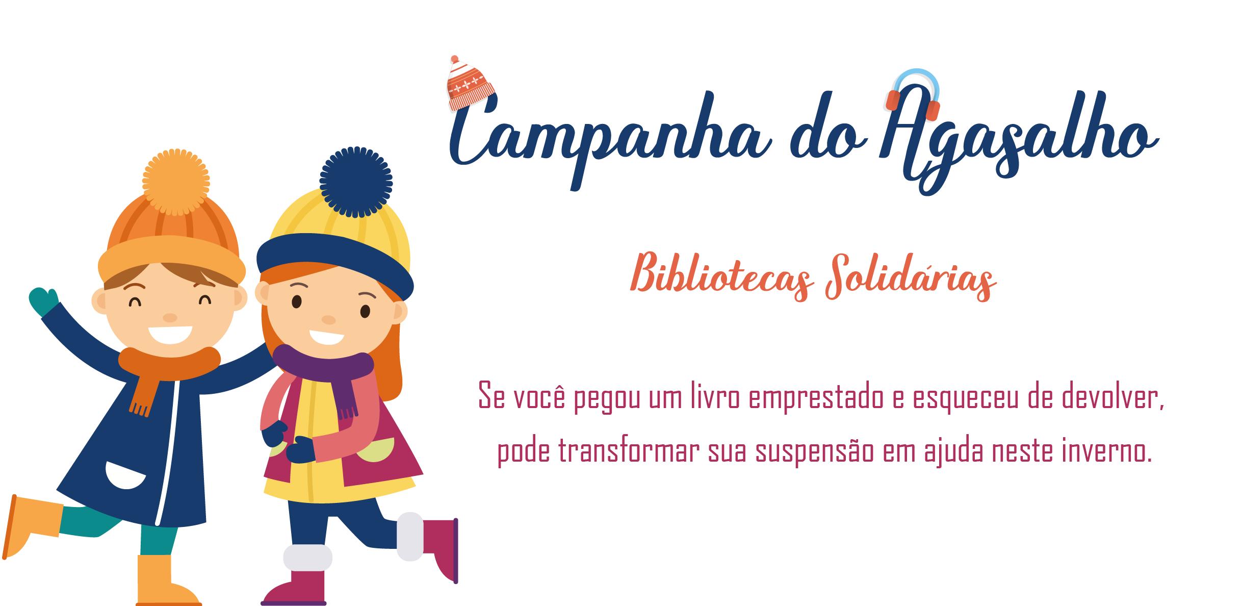 Campanha do Agasalho - Bibliotecas Solidárias