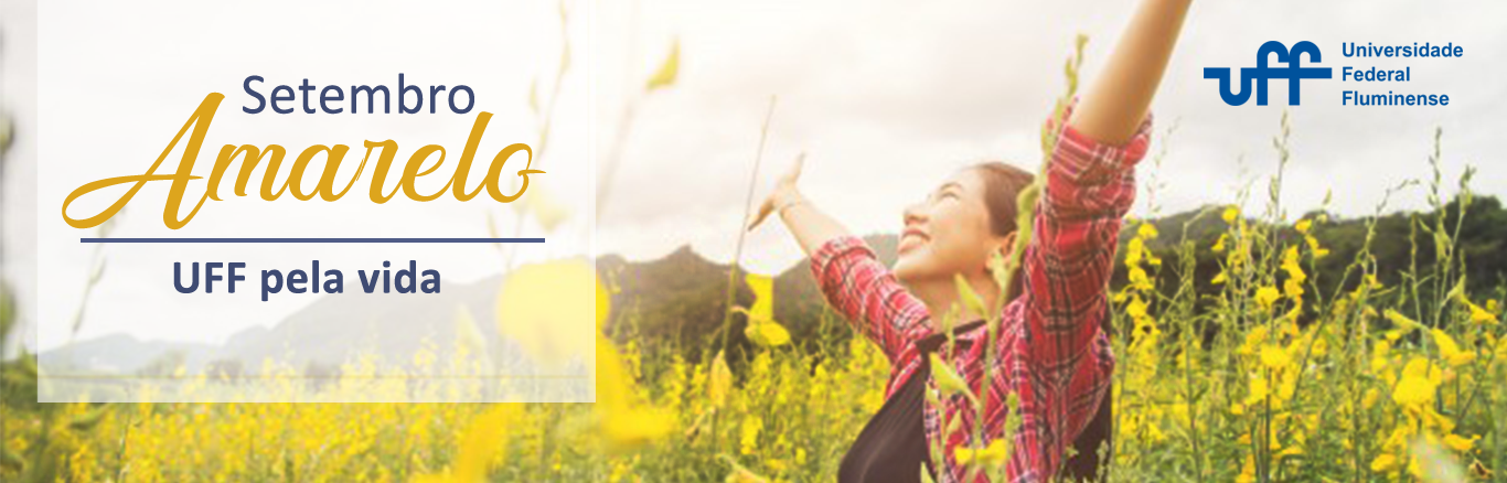 Banner da campanha Setembro Amarelo
