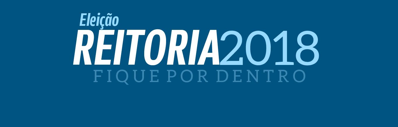 eleição reitoria 2018