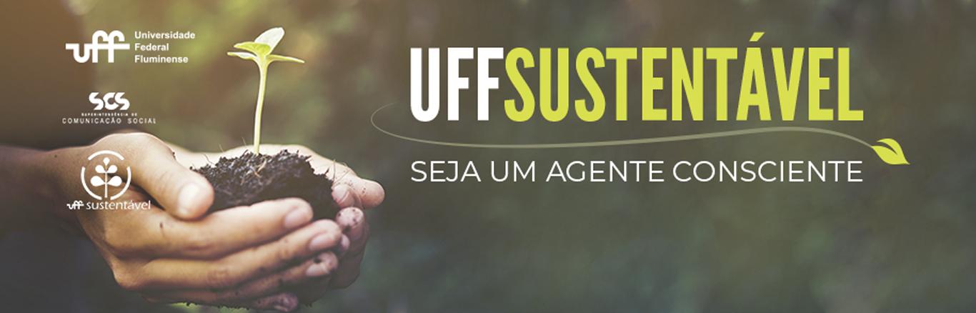 Uff Sustentável - banner da campanha