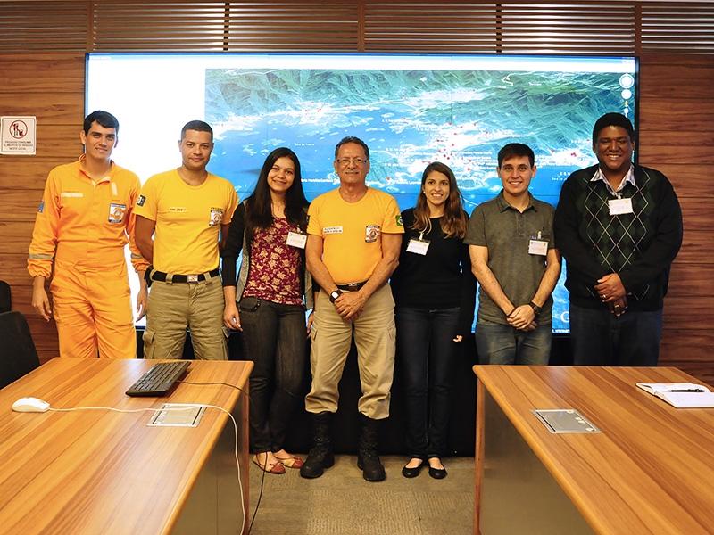 Parceria com Defesa Civil de Angra dos Reis para discussão de projetos na área de desastres naturais