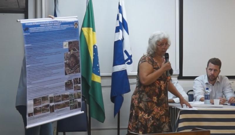 Professora Janie Garcia - Laboratório Horto Viveiro