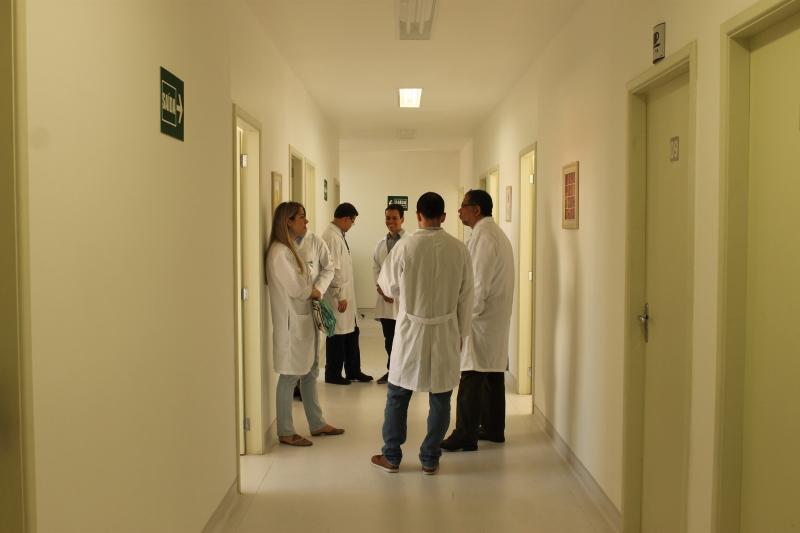O novo espaço para pesquisa dispõe de 16 salas para estudos clínicos Foto: Gabriella Balestrero