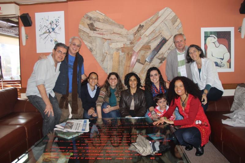 Grupo de pesquisadores e professores do Observatório Foto: Divulgação