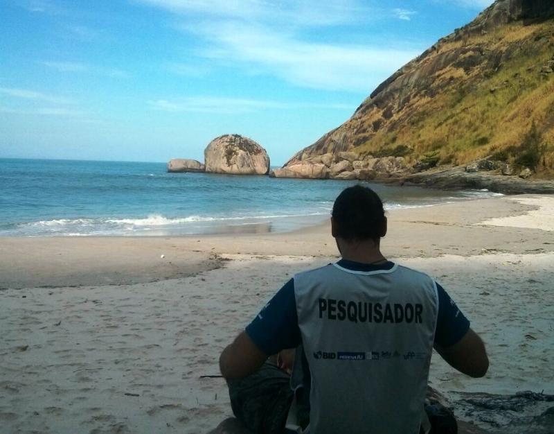 Pesquisador do IOT-RJ curte um instante de folga no trabalho Foto: Divulgação