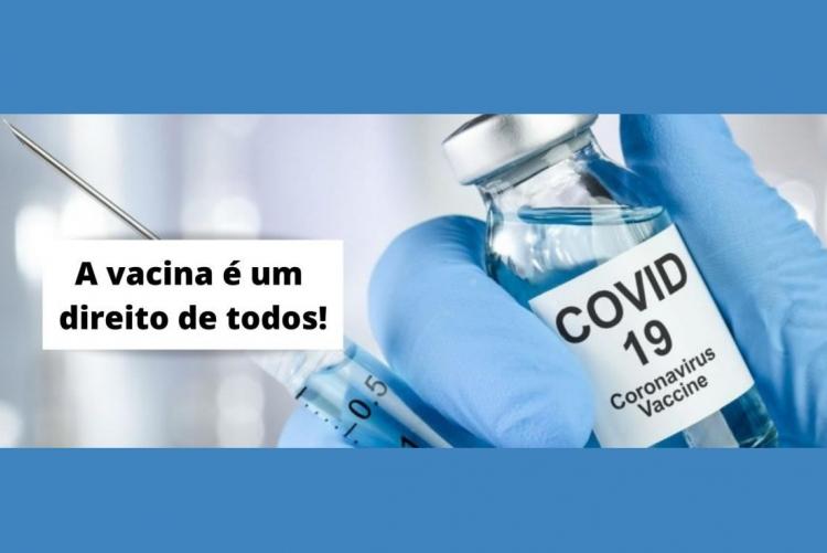 Andifes - Vacina é direito de todos