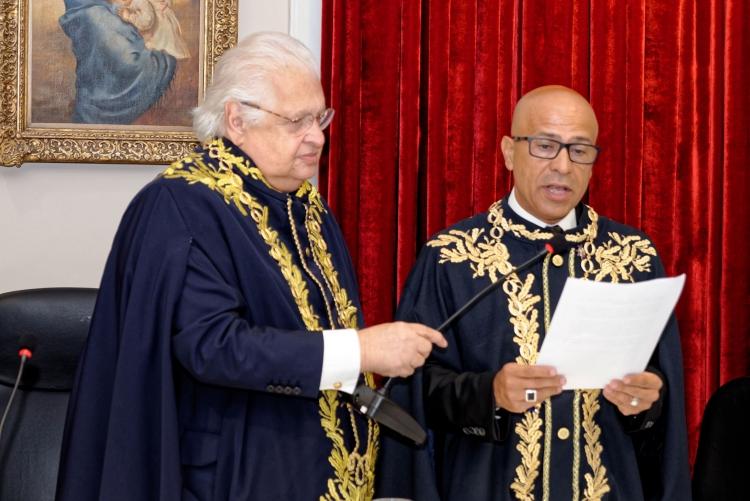 Reitor toma posse na Academia Brasileira de Educação (ABE).