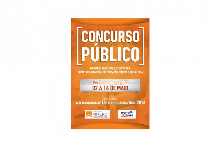 Concurso Público da Fundação Pública Municipal de Educação de Niterói