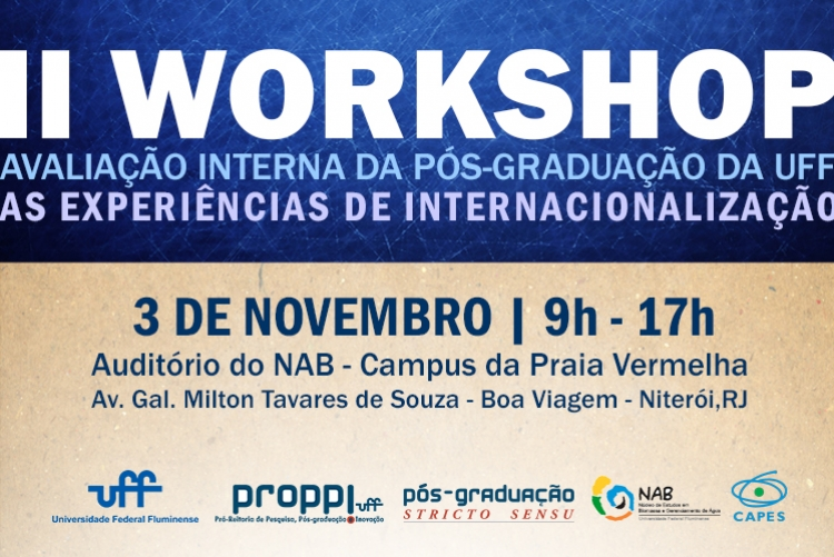 II Workshop Avaliação Interna da Pós-Graduação