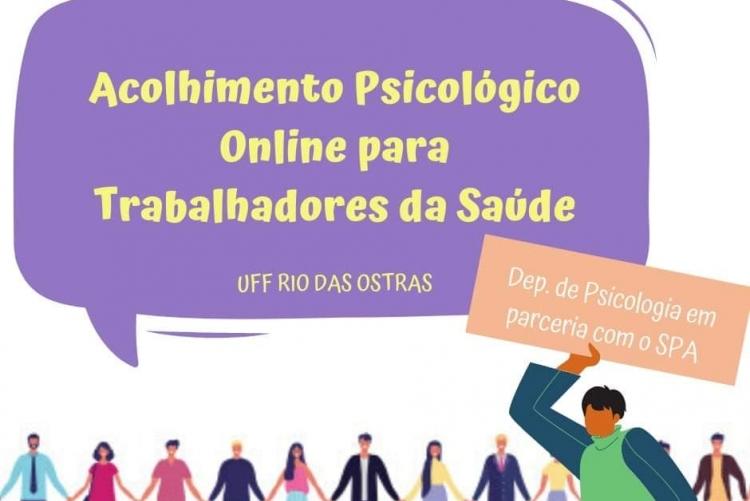 Acolhimento Psicólogico online para Trabalhadores da Saúde