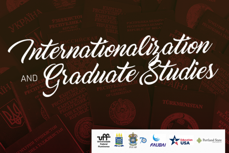 Imagem promocional do evento Internationalization and Graduate Studies