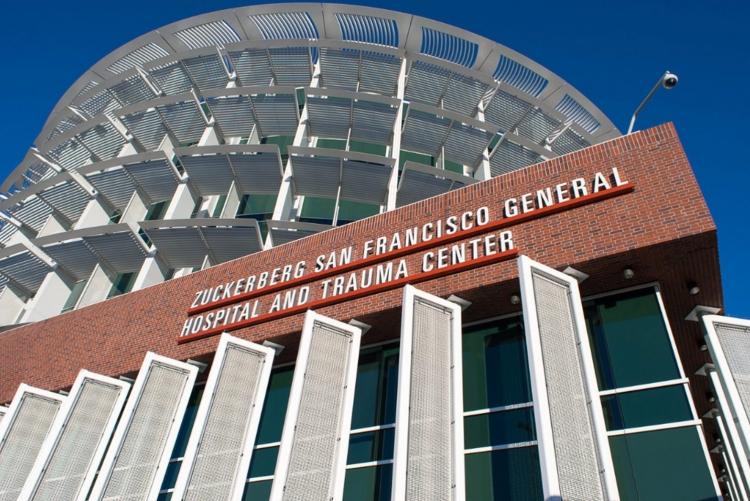 Hospital da UCSF, onde fica o laboratório em que foi realizada a pesquisa - Foto: Divulgação