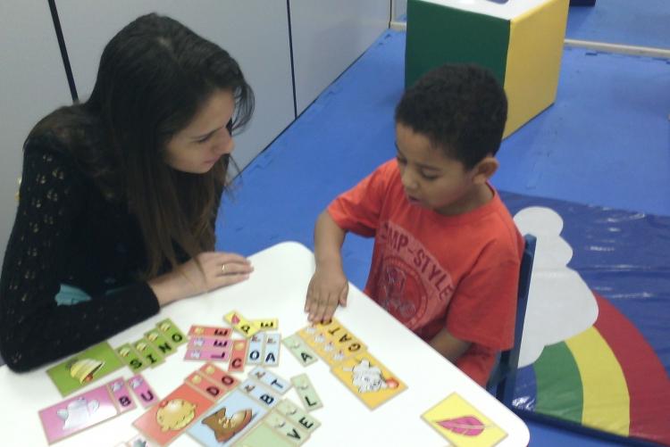 Ambiente Lúdico do Ladaca favorece a socialização e qualidade de vida de crianças autistas - Foto: Divulgação