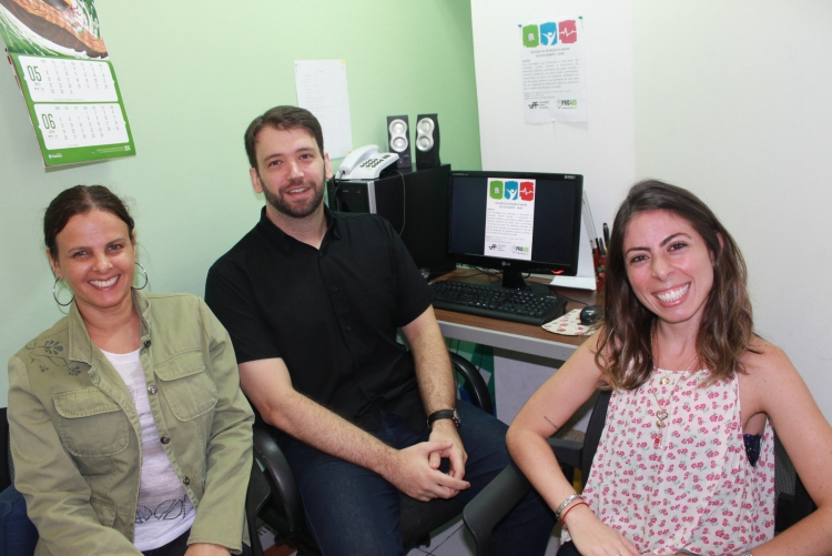 Valéria Vasiliauskas, Fabio Dias e Nathália Lacerda