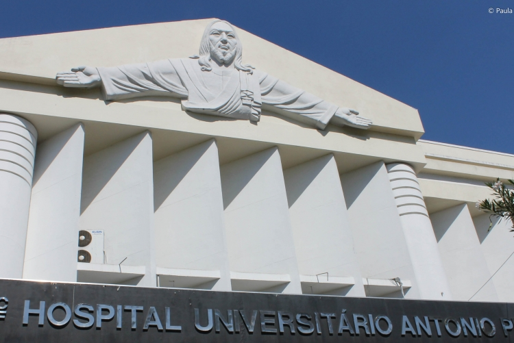 Fachada do Hospital Antônio Pedro