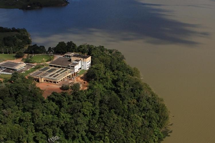 Represa de Juturnaíba (Crédito: Grupos Águas do Brasil)