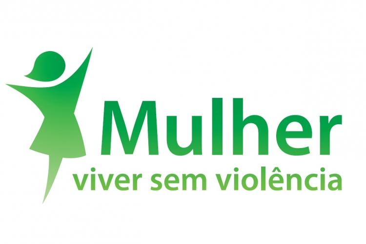 Logo do programa 'Mulher, viver sem violência', coordenado pela Secretaria Especial de Políticas para as Mulheres