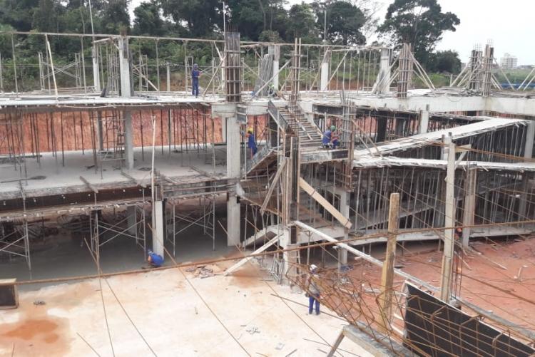 O novo prédio faz parte do programa de expansão do polo universitário e será entregue já no segundo semestre de 2019.