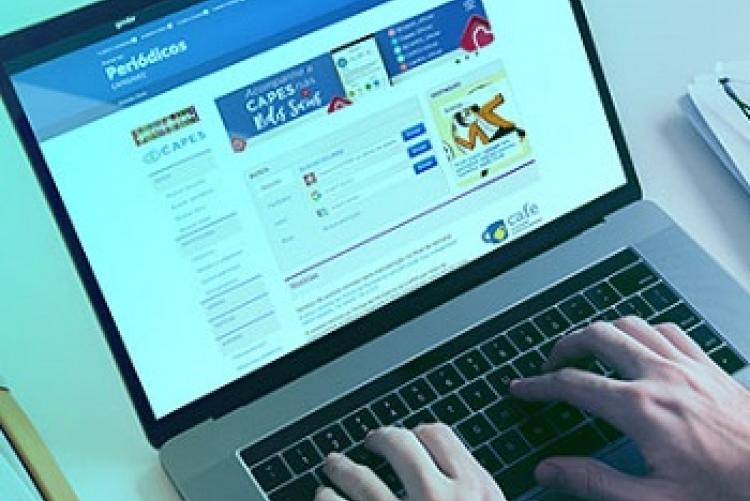 Imagem da página do Portal de Periódicos CAPES