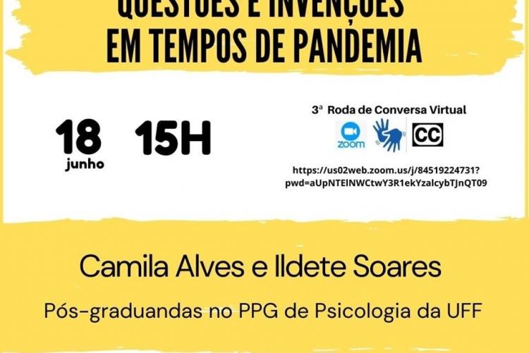 #pratodosverem cartaz de fundo branco e detalhes em amarelo e preto. Na parte superior e centralizado o tema