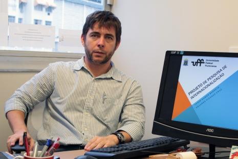 Coordenador-geral do projeto Eduardo Picanço