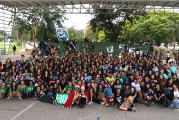 A edição de 2018.2 do Acolhimento Estudantil contou com a participação de cerca de 1500 alunos.