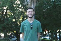 André Furtado, aluno vencedor do Prêmio Internacional de História Intelectual da América Latina 2016. / Foto: Luísa Verçosa