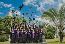 Formatura do curso de Biblioteconomia e Documentação - Crédito: Eternare Fotografia