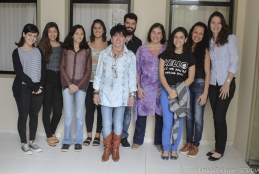 Equipe do Núcleo Girassol - Foto: Letícia Felippe