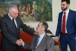 Reitores da UFF são recebidos pelo presidente e seus ministros em Brasília