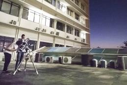 Observação do céu é uma das atividades da Casa da Descoberta