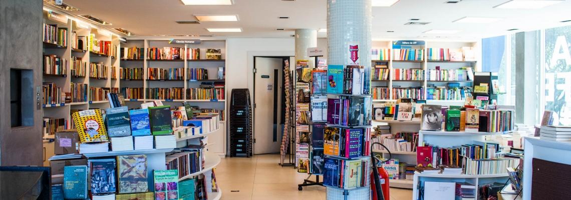 Foto da livraria