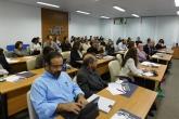 Pesquisadores e Docentes compareceram às mesas redondas do primeiro dia de evento.
