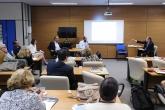 Debate sobre parcerias entre Universidades, Governo e Indústria com Margaret Everett, da PSU, José Celso Freire, da FAUBAI, Thiago Renault, Esteban Clua e Fábio Passos, da UFF.