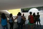 Primeiro grupo participante visita o Teatro Popular Oscar Niemeyer