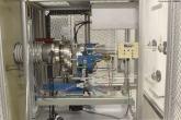 Fonte de íons - extração de partículas do grafite produzido na preparação da amostra
