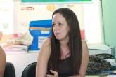 Renata Feitosa é responsável pela organização do Acolhimento Estudantil