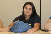 Mariana Sousa, aluna e presidente do Diretório Acadêmico do Curso de Hotelaria da UFF Foto: Felipe Gelani