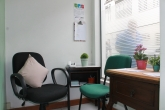 Sala do projeto no campus da Reitoria
