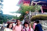Foto em Quioto, no Japáo