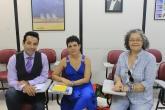 Alunos do curso: Alexandre Arco e Flexa, Alessandra da Silva Barreto e Ana Maria Belo Foto: Fernanda Queiroz