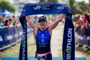vencedora do Triathlon