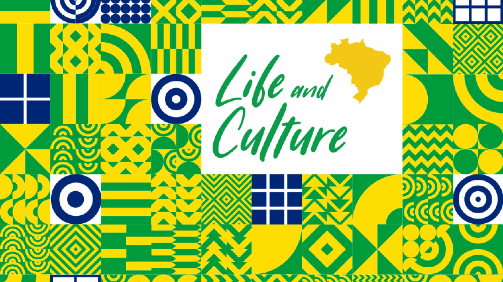 """Imagem promocional do curso de férias """"Brazil: Life and Culture"""""""