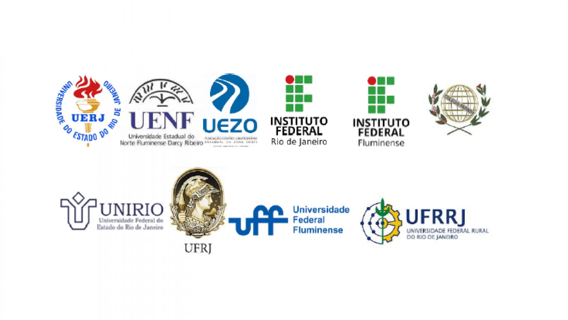 Instituições Públicas de Ensino Superior e as de Pesquisa do Estado do Rio de Janeiro
