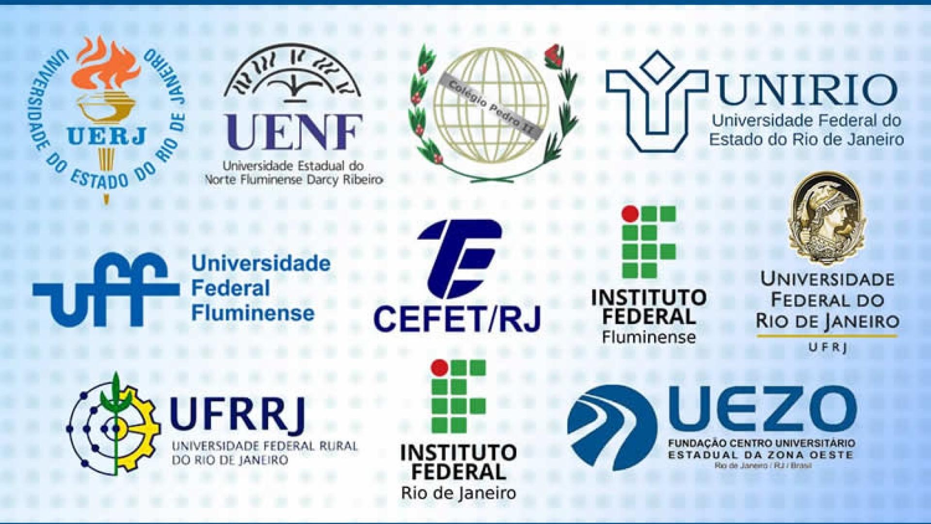 Logotipo das IFES-RJ