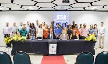 Assinatura do Acordo de Cooperação Técnica - SEI