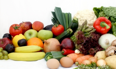 imagem: frutas e legumes