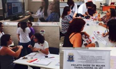 UFF tem dia de cuidado e prevenção à saúde da mulher - Foto: Divisão de Qualidade de Vida