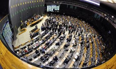 Plenário da Câmara de Deputados