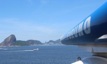 Radar Banda-X instalado no telhado do prédio do curso de Geociências